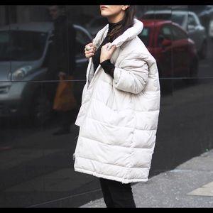 Off white bubble jacket/puffer jacket